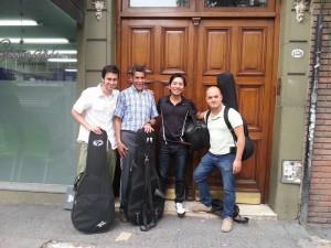 RECORDING with Maestro Vicente Correa